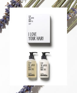 stop the water while using me, organic hair care, natural shampoo, vegan conditioner, gift set