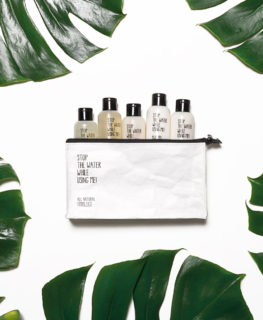 stop the water while using me, organic skin care, natural beauty, travel kit, travel size cosmetics