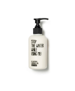 stop the water while using me, vegan cosmetics, organic skincare, hand cream, hand care