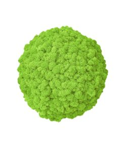 Polarmoss, preserved deco sphere, reindeer moss ball, stabilized plants, preserved foliage