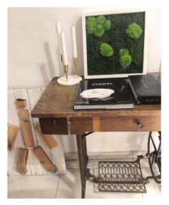kontor 202, belcat design, nature frame, preserved moss, pole moss