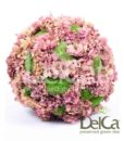 Hortensia Polemoss, preserved deco sphere, Hortensia polemoss ball, stabilized plants, preserved foliage