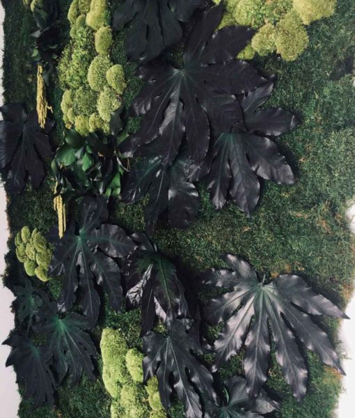 green verticals , forest wall, moss wall, moss wall art preserved moss