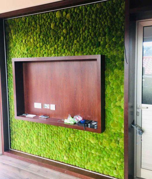green verticals , moss tiles, moss wall, moss wall art preserved moss