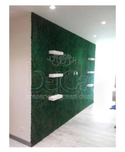 green verticals, moss tiles, moss wall, moss wall art, preserved moss