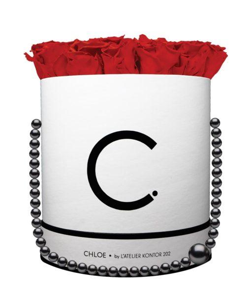 Chloe Flowerbox, Infinity Roses, Classic Red, Preserved Flowers, Cyprus, Florist, Concept Store, KONTOR 202