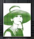chloe design, moss wall art, moss art, moss picture, moss portrait