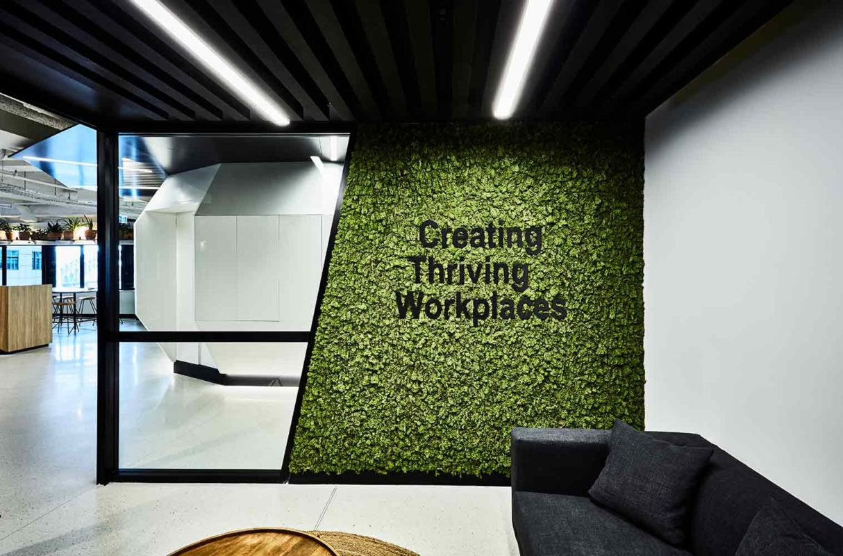 Kontor202 | Atelier & Lifestyle Lounge, there is no end to natural creativity - Preserved Polar Moss Wall